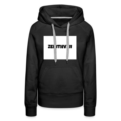 Premium ZENITHVXII LOGO DESIGN - Women's Premium Hoodie