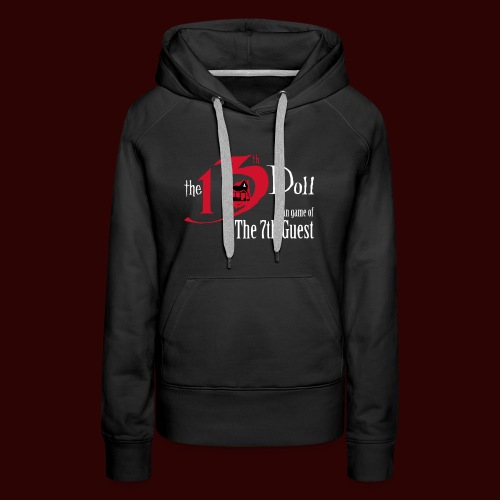 The 13th Doll Logo - Women's Premium Hoodie