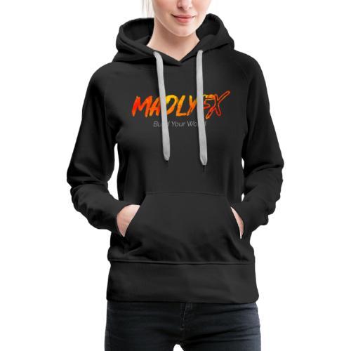 MadlyFX Build Your World - Women's Premium Hoodie