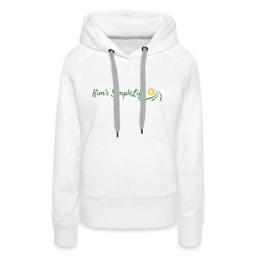 Kim's SimpleLife Tee - Women's Premium Hoodie