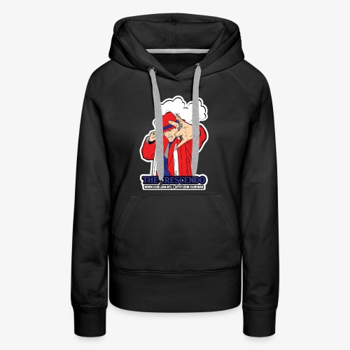 aj jordan the crescendo new cartoon - Women's Premium Hoodie