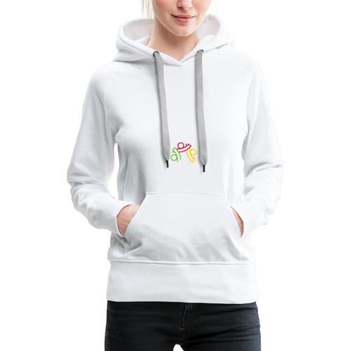 seemycolor print 01 - Women's Premium Hoodie