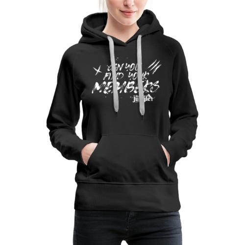 Can you find your members (white) - Women's Premium Hoodie