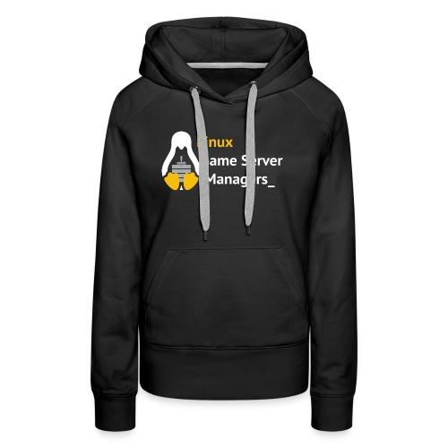 Linux Game Server Managers_ - Women's Premium Hoodie