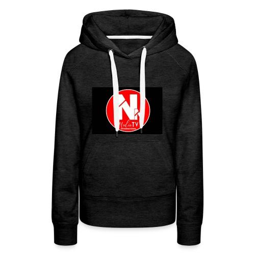 logo NN MEDIA TV - Women's Premium Hoodie