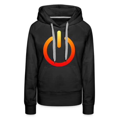 power on off - Women's Premium Hoodie