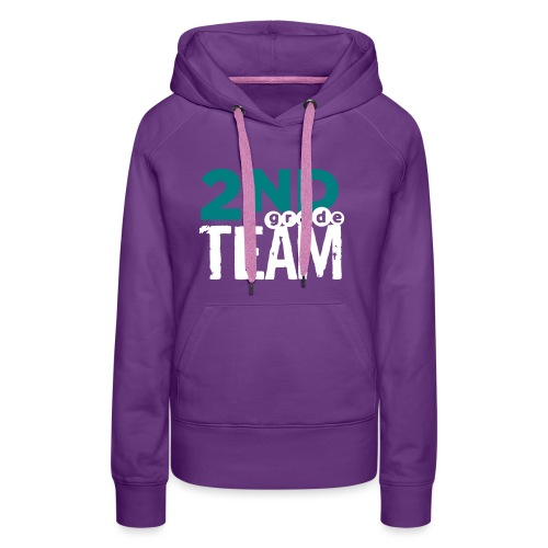 Bold 2nd Grade Team Teacher T Shirts - Women's Premium Hoodie