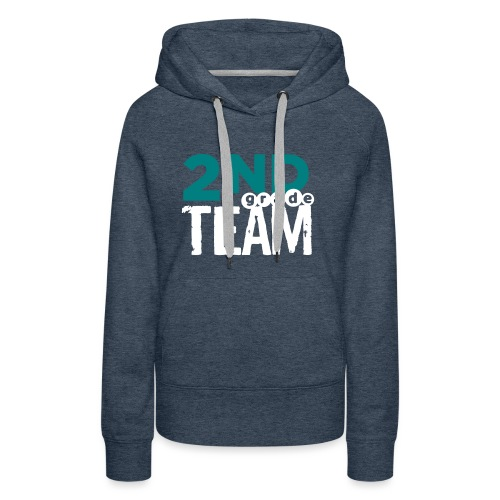 Bold 2nd Grade Team Teacher T Shirts - Women's Premium Hoodie