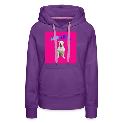 Pink Pit Bull - Women's Premium Hoodie