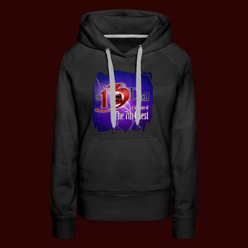 The 13th Doll Logo With Lightning - Women's Premium Hoodie