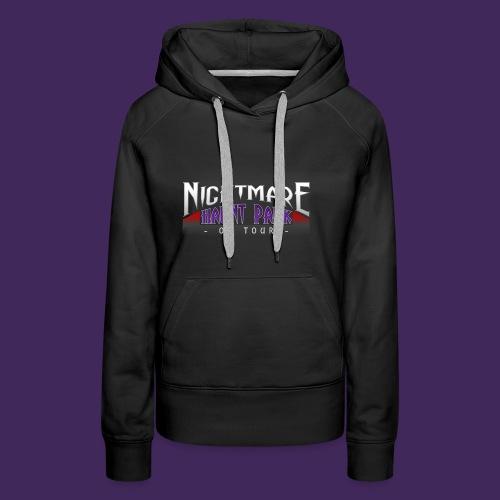 Nightmare Haunt Park Logo - Women's Premium Hoodie