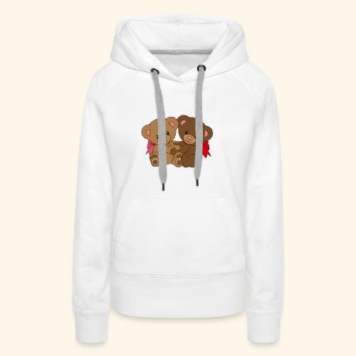Bears Hugging - Women's Premium Hoodie
