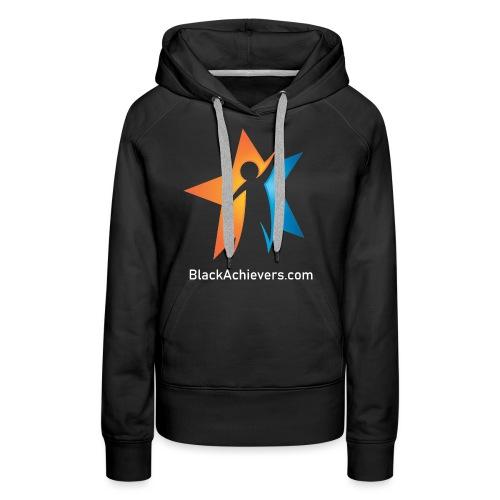Black Achievers Designer Logo - Women's Premium Hoodie