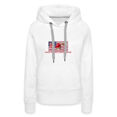 Make America Meow Again - Women's Premium Hoodie