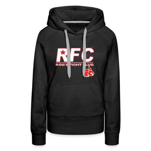 Red/Wht RFC Star Logo - Women's Premium Hoodie