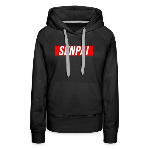 senpai design - Women's Premium Hoodie