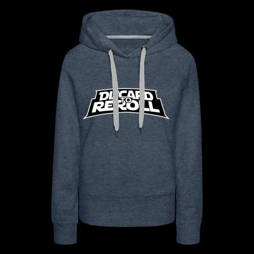 Discard to Reroll: Logo Only - Women's Premium Hoodie