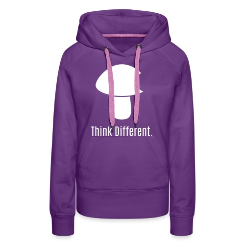 Think Different. - Women's Premium Hoodie