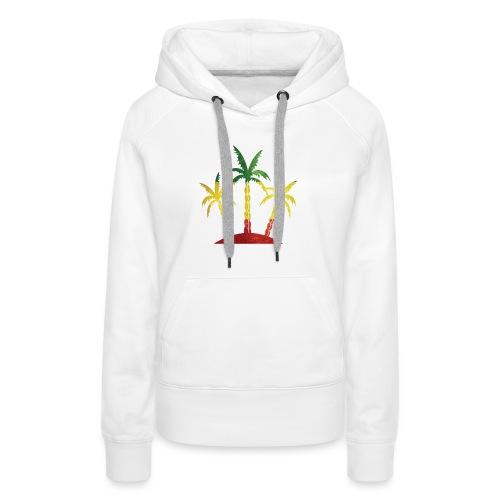 Palm Tree Reggae - Women's Premium Hoodie