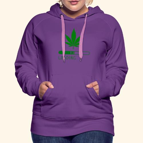 Pot Leaf Loading Design - Women's Premium Hoodie