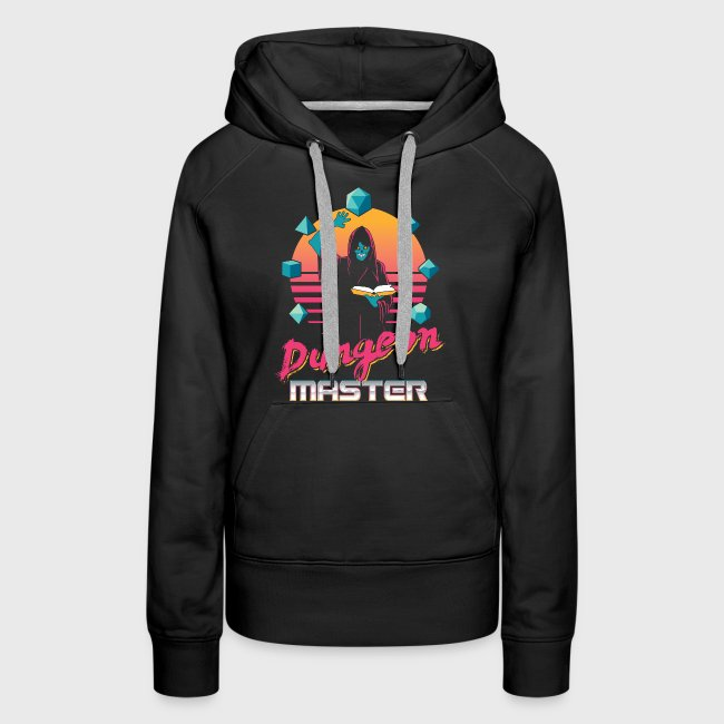 dungeon master outrun neon fantasy gift shirt