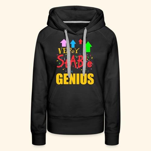 very stable genius - Women's Premium Hoodie