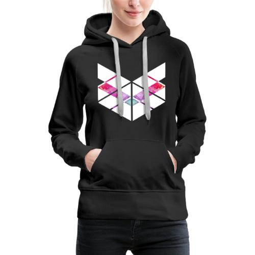 SaMPL and HoLD Watercolor Logo - Women's Premium Hoodie