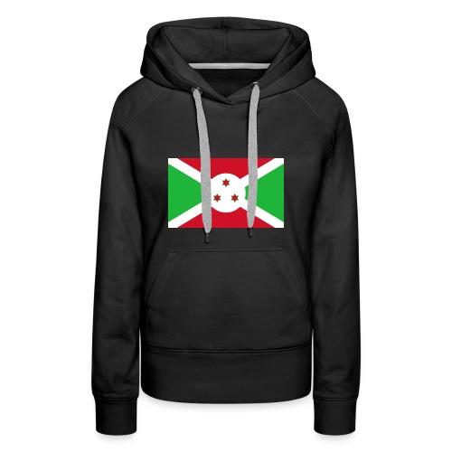 burundi - Women's Premium Hoodie