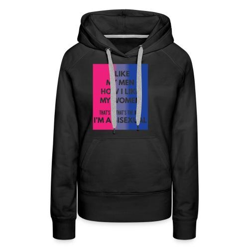 Bisexual - Bi - LGBT - Gay Pride - Gift - Women's Premium Hoodie