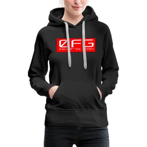 Zero Fks Given - Women's Premium Hoodie