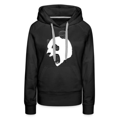 Fierce Panda Crewneck - Women's Premium Hoodie