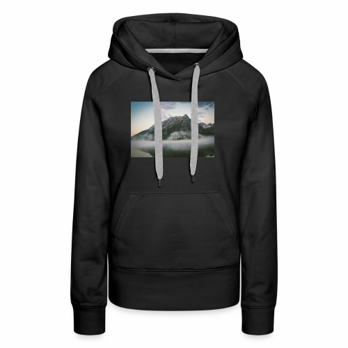 mountain view - Women's Premium Hoodie