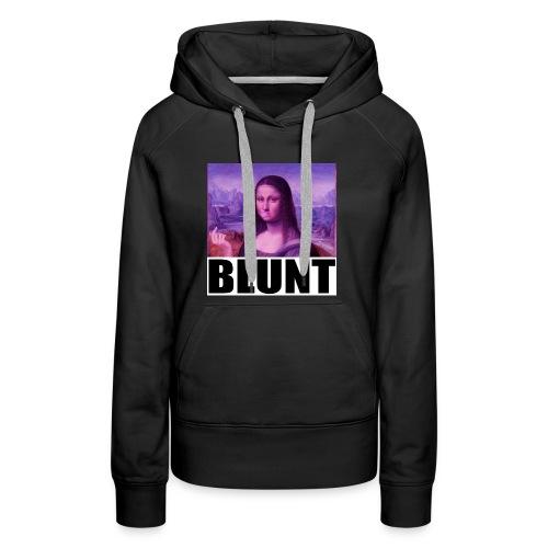 BLUNT Mona Lisa - Women's Premium Hoodie