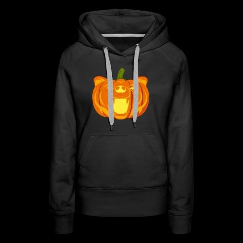 Pumpkin Bear - Women's Premium Hoodie