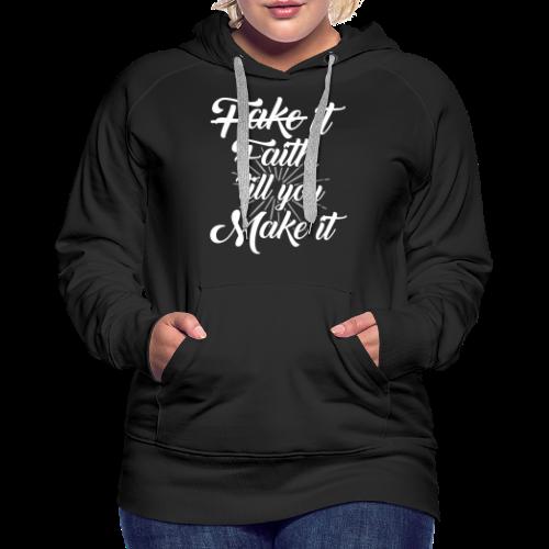 Faith Design - Women's Premium Hoodie