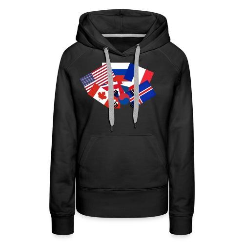 Super flag - Women's Premium Hoodie