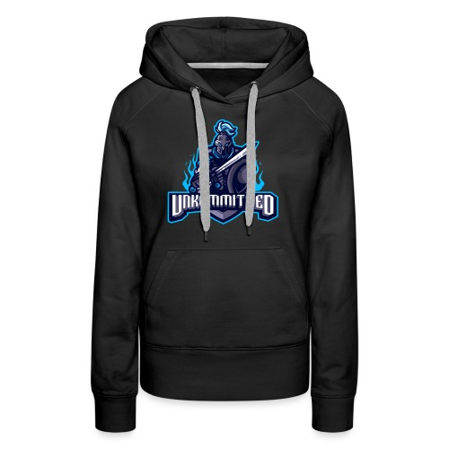 Unkommitted Text Logo - Women's Premium Hoodie