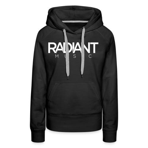 Radiant Text Logo - Women's Premium Hoodie