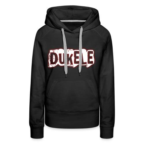Dukele Cracked - Women's Premium Hoodie