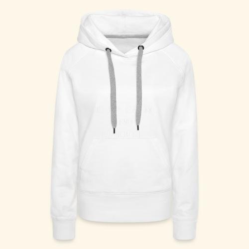 keep calm shoot wht - Women's Premium Hoodie