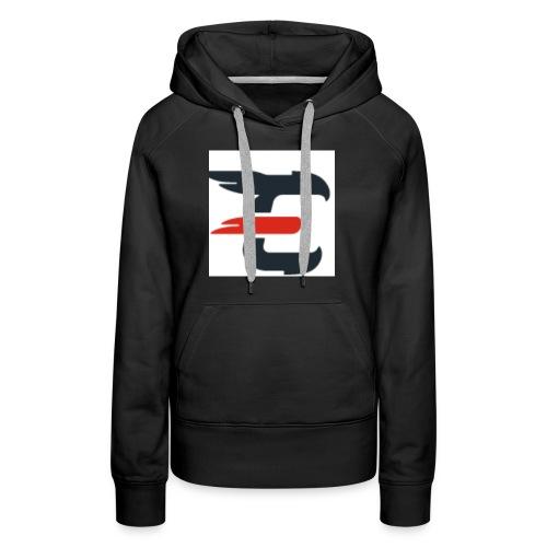 exxendynce logo - Women's Premium Hoodie