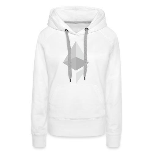Ethereum Logo Light - Women's Premium Hoodie