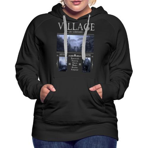 Los Iluminados Village 2 - Women's Premium Hoodie