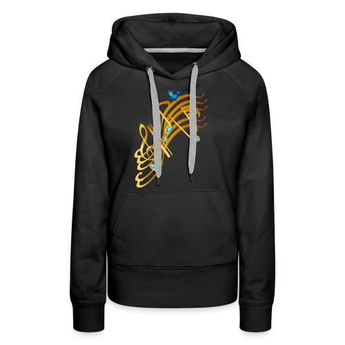 Golden Notes - Women's Premium Hoodie