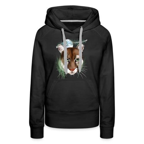Midnight Puma - Women's Premium Hoodie