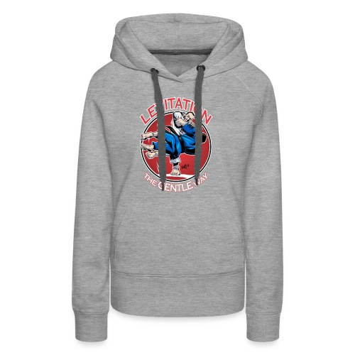 Judo Levitation for dark shirt - Women's Premium Hoodie