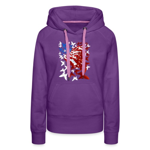 The Butterfly Flag - Women's Premium Hoodie