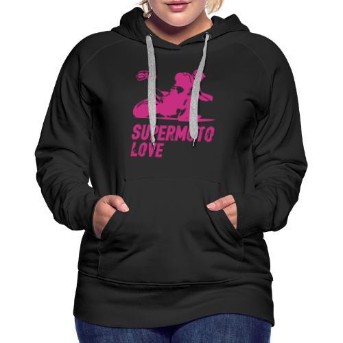 Supermoto Love - Women's Premium Hoodie