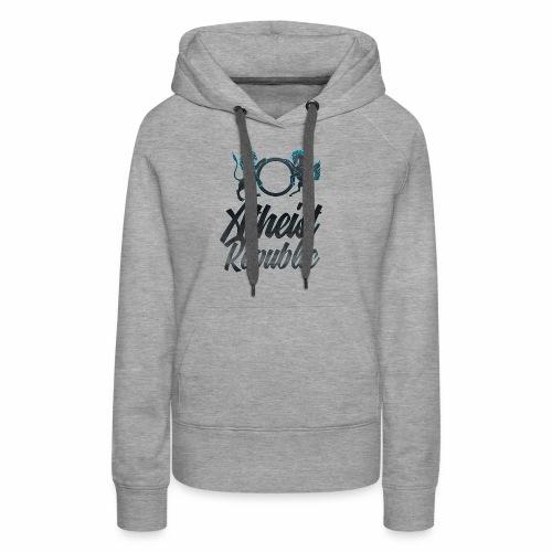 Atheist Republic Italics - Women's Premium Hoodie