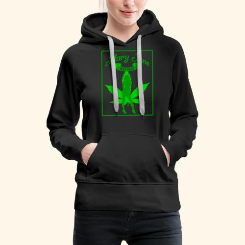MARJ JANE - PUFF PASS - WEED SMOKER SHIRT FOR MEN - Women's Premium Hoodie